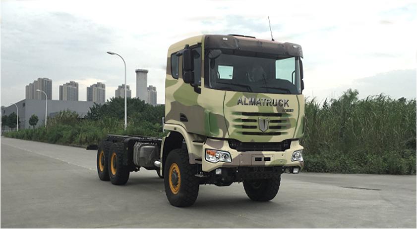 Шасси спецавтомобиля «ALMATRUCK»,  6х6  (дизель)