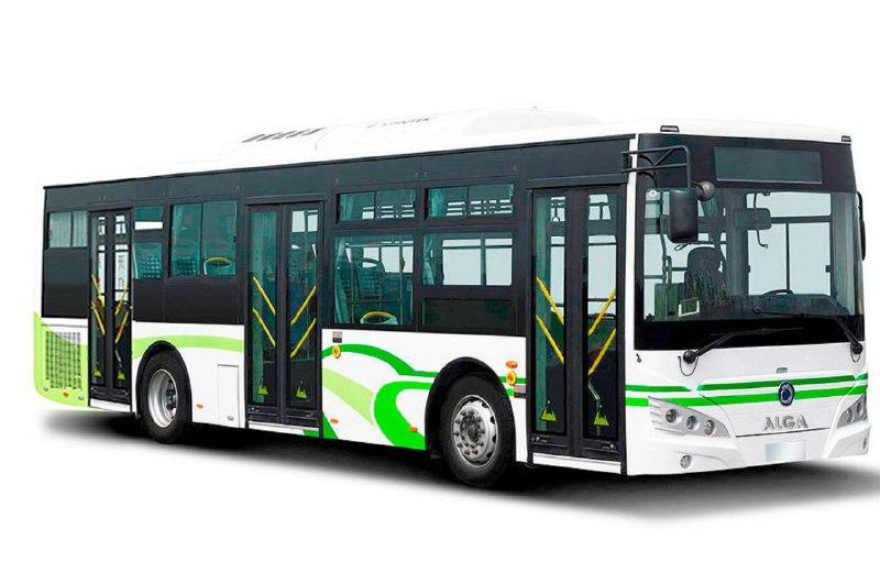 Городской автобус «Almabus» 6129 (газ), трехдверный
