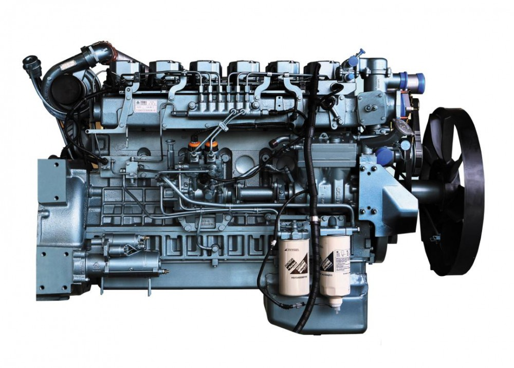 Двигатель Sinotruk WD615.92