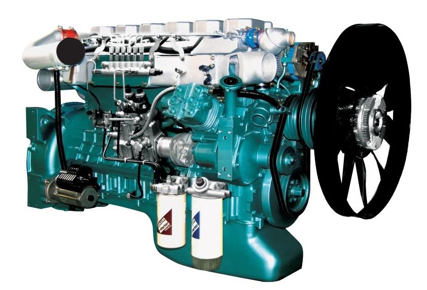 Двигатель Sinotruk серии D10